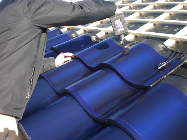 sole dakpan zonnepanelen